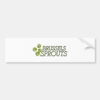 Coles de Bruselas Pegatina Para Auto