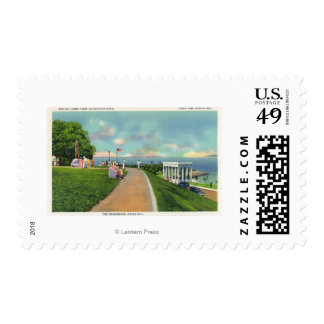Coles Hill View of the Promenade Postage