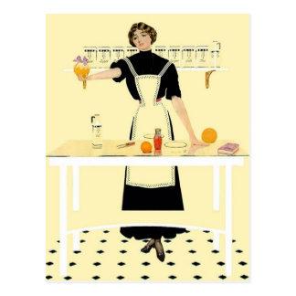 """Coles Phillip - """"Kitchen"""" Postcard"""