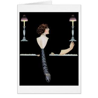 """Coles Phillip - """"Piano"""" Card"""