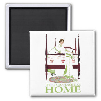 Coles Phillips Fade - There s No Place Like Home Refrigerator Magnets