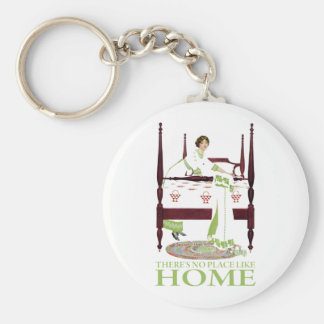 Coles Phillips Fade - There's No Place Like Home Basic Round Button Keychain
