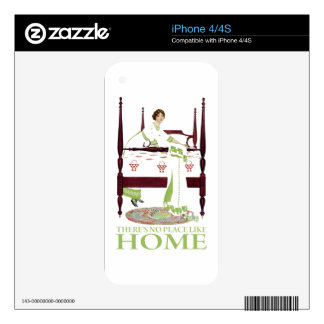 Coles Phillips Fade - There's No Place Like Home Decal For The iPhone 4