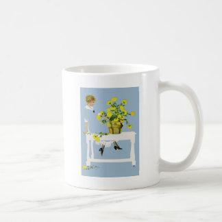 Coles Phillips Fadeaway Chrysanthemums Coffee Mug