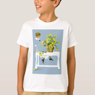 Coles Phillips Fadeaway Chrysanthemums T-Shirt