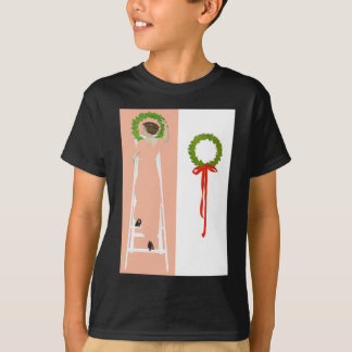 Coles Phillips Fadeaway - Deck The Halls T-Shirt