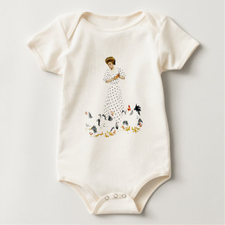 Coles Phillips Fadeaway Farmer's Daughter Baby Bodysuit