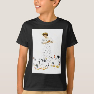 Coles Phillips Fadeaway Farmer's Daughter T-Shirt