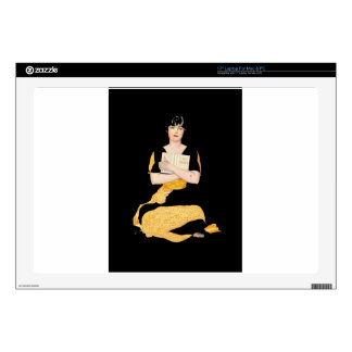 Coles Phillips Fadeaway Girl - Diary Laptop Decals