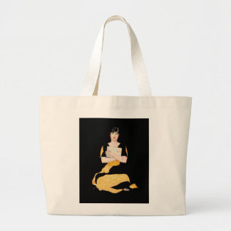 Coles Phillips Fadeaway Girl - Diary Large Tote Bag