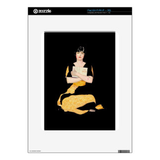 Coles Phillips Fadeaway Girl - Diary Decals For The iPad