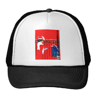 Coles Phillips Fadeaway Girl - White Christmas Trucker Hats