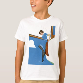 Coles Phillips Fadeaway - Sailing On Blue Oceans T-Shirt