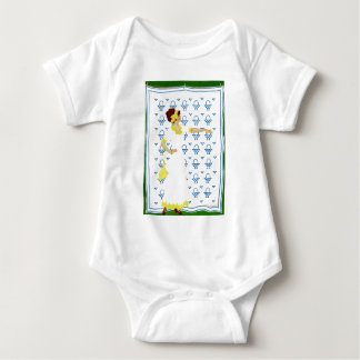 Coles Phillips Fadeaway - Woman at the County Fair Baby Bodysuit