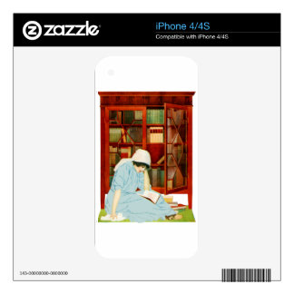 Coles Phillips - Lost Horisons Skin For The iPhone 4