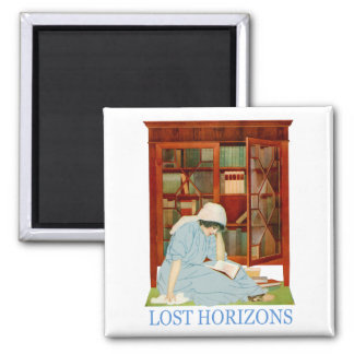 Coles Phillips - Lost Horizons 2 Inch Square Magnet
