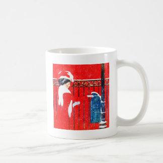 Coles Phillip's Victorian Christmas Coffee Mug