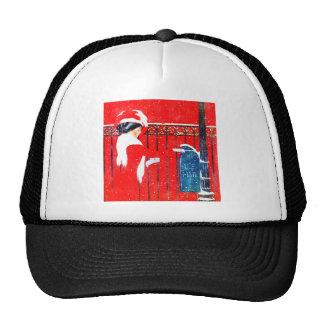 Coles Phillip's Victorian Christmas Trucker Hat