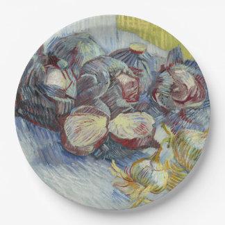 Coles rojas y cebollas de Vincent van Gogh