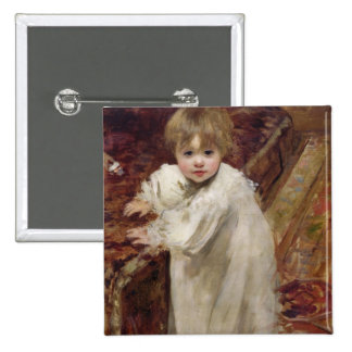 Colette's First Steps, 1895 Button