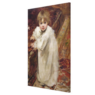 Colette's First Steps, 1895 Canvas Print