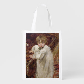 Colette's First Steps, 1895 Reusable Grocery Bag
