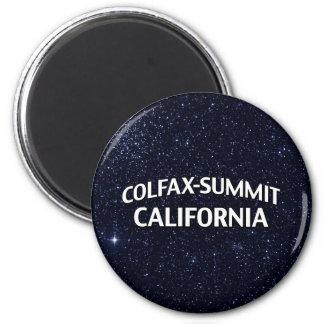 Colfax-Summit California 2 Inch Round Magnet