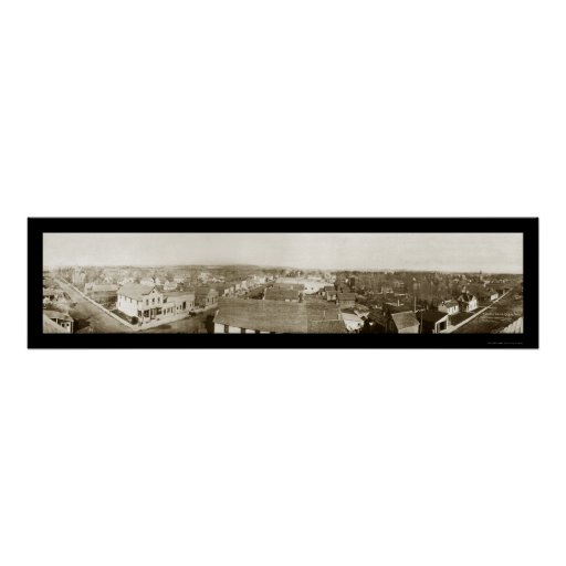 Colfax Wisconsin Photo 1912 Posters
