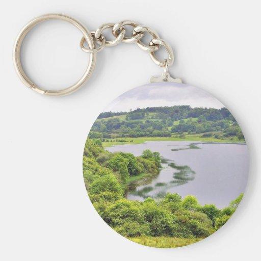 Colgagh Lough Lakes Ireland 4 Keychain