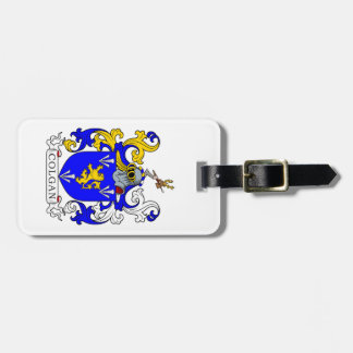 Colgan Coat of Arms Luggage Tags