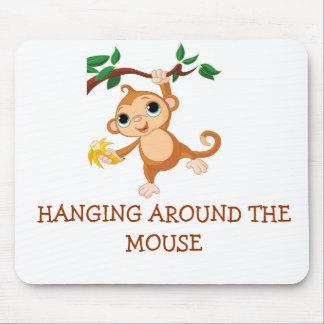 Colgante alrededor del ratón tapetes de raton