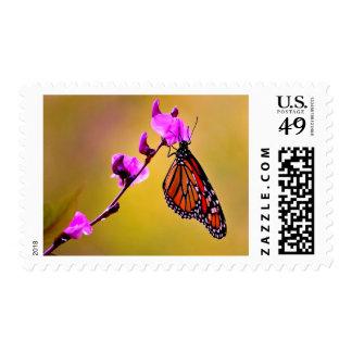 ¡COLGANTE ALREDEDOR! (mariposa de monarca) ~.jpg Timbres Postales