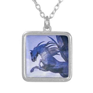 Colgante azul del caballo