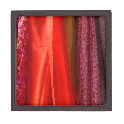 Colgante bonito de las bufandas caja de joyas de calidad