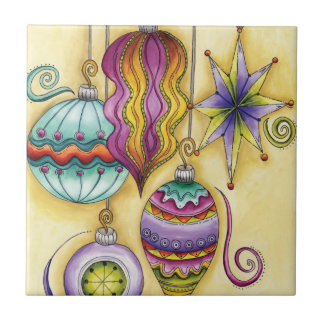 Colgante colorido hermoso de los ornamentos del na azulejo ceramica