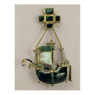 Colgante de Caravel, 1580s-90s Postales