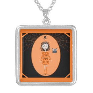 Colgante de Halloween del chica del zombi
