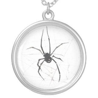 Colgante de la acuarela del arácnido de la araña