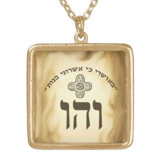 colgante de la felicidad del kabbalah