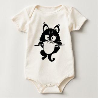 colgante de la imagen del gato body de bebé
