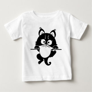 colgante de la imagen del gato camisas