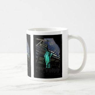Colgante de la libertad tazas de café