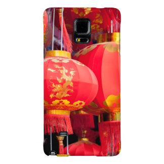 Colgante de la linterna del chino tradicional funda galaxy note 4