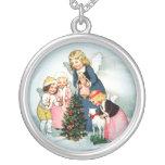 Colgante de la plata de la joyería del navidad del