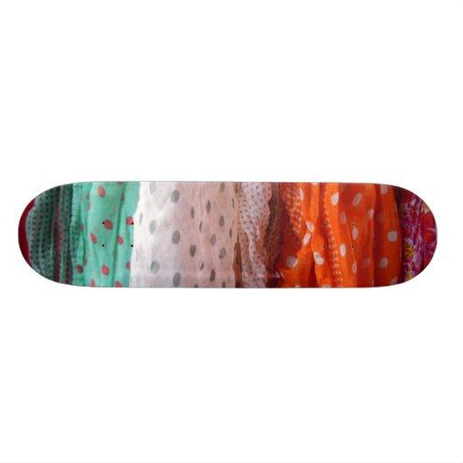 Colgante de las bufandas de las señoras que fluye tabla de patinar