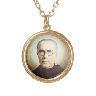 Colgante de Maximiliano Kolbe del santo