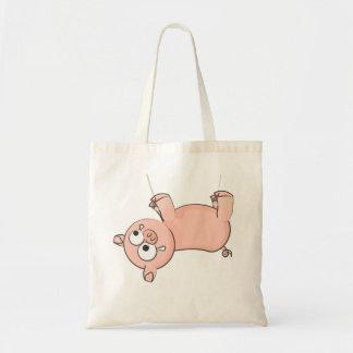 Colgante del cerdo bolsa tela barata