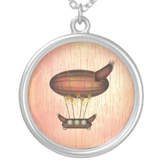 Colgante del dirigible del vintage de Steampunk
