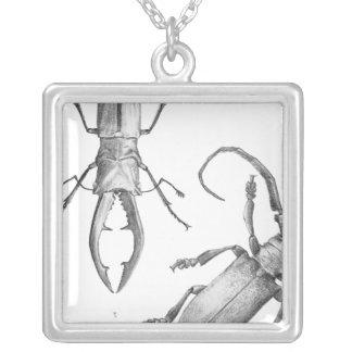 Colgante del ejemplo del escarabajo del vintage