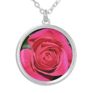 Colgante del rosa rojo, casando la joyería, moda